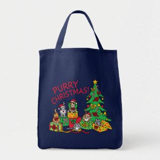 Purry Christmas! Tote Bag