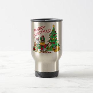 Purry Christmas! Travel Mug