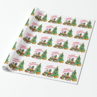 Purry Christmas! Wrapping Paper