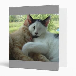 Purry Furry  Cat Love Binder