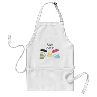 Purse Addict Adult Apron