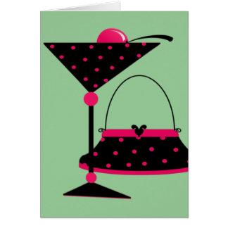 Purse and Martini Card