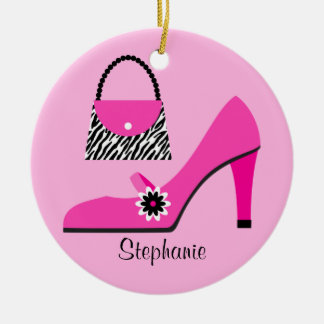 Purse and Shoe Christmas Ornament