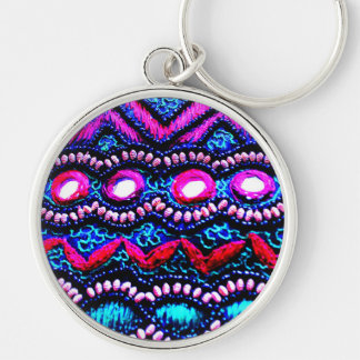 Purse Embroidery from India Keychain