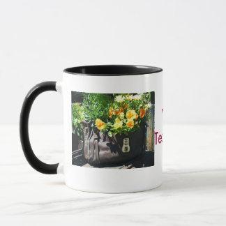 Purse Flower Coffee Mug