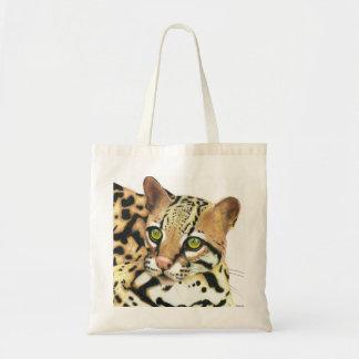 Purse of Little tiger (Leopardus tigrinus) Tote Bag