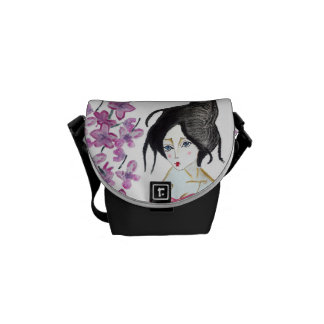 Purse, small geisha, Japanese