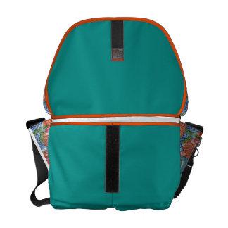 purse tattoo koi messenger bag