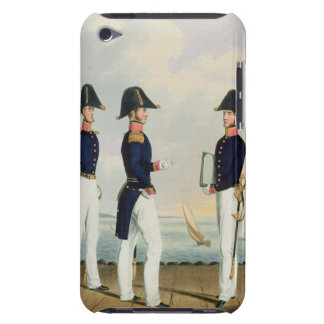 Pursers and Captain's Clerk, plate 7 from 'Costume iPod Touch Case-Mate Case