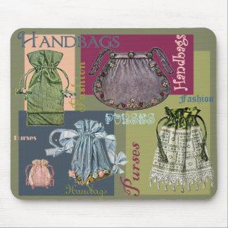 Purses, Handbags, and Fashion Mouse Pad