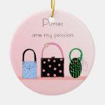 Purses - My Passion Christmas Tree Ornaments
