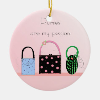 Purses - My Passion Christmas Tree Ornaments