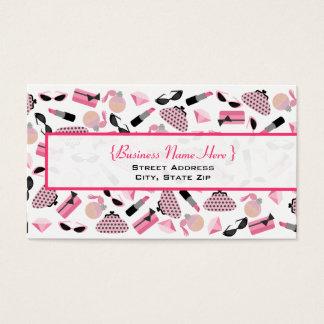 Purses Perfume & Lipstick Business Card