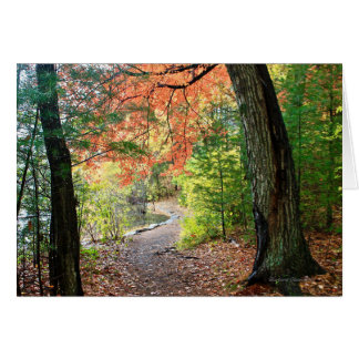 Pursue a Path of Love and Reverence :Greeting Card
