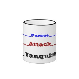 Pursue, Attack, Vanquish Mug