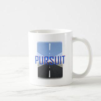 pursuit coffee mug