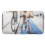 Pursuit cycling team in action iPod touch case