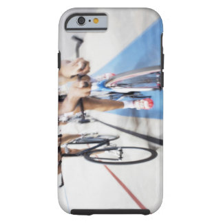 Pursuit cycling team in action tough iPhone 6 case