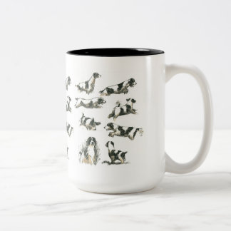 Pursuit eagerness Two-Tone coffee mug