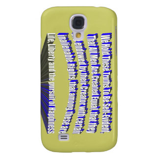 Pursuit of Happiness 3D Blue Samsung Galaxy S4 Covers