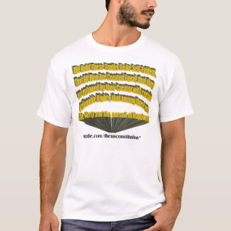 Pursuit of Happiness 3D Yellow T-Shirt