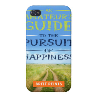 Pursuit of Happiness Book iPhone Case Cases For iPhone 4