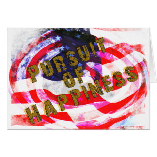 PURSUIT OF HAPPINESS CARD
