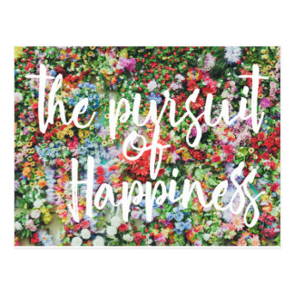 Pursuit of Happiness Postcard