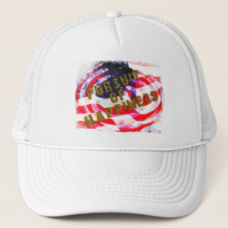 PURSUIT OF HAPPINESS TRUCKER HAT