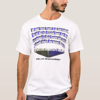 Pursuit of Happiness White Blue T-Shirt