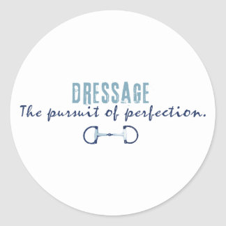 Pursuit of Perfection Classic Round Sticker