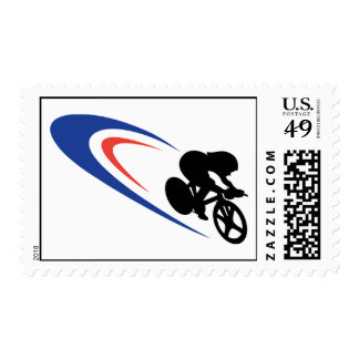 Pursuiter and Track Postage Stamps