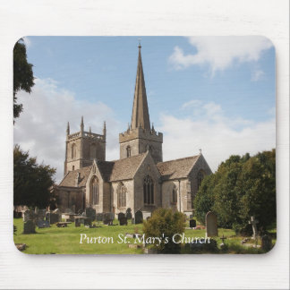 Purton St. Mary's Church Mouse Pad
