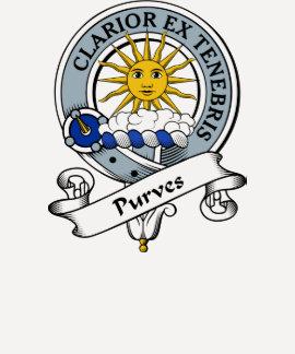Purves Clan Badge Tee Shirt