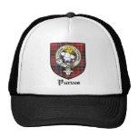 Purves Clan Crest Badge Tartan Trucker Hat