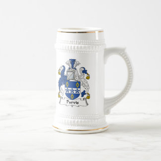 Purvis Family Crest Coffee Mug