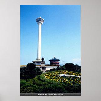 Pusan Tower, Pusan, South Korea Poster