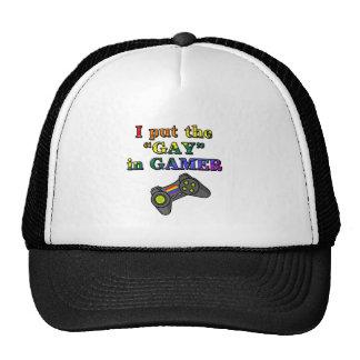 Puse al GAY en videojugador Gorro De Camionero
