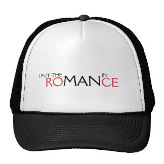 PUSE AL HOMBRE EN ROMANCE GORRA