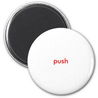 push 2 inch round magnet