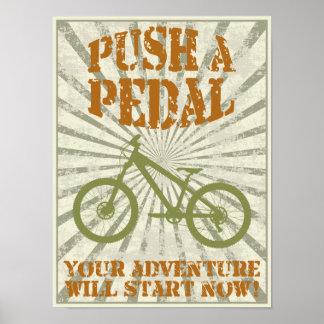 Push a pedal print