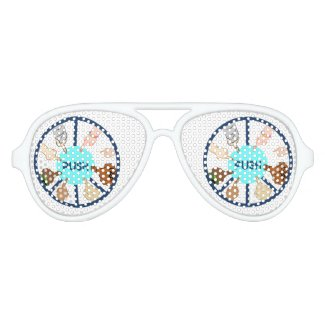 PUSH   Aviators Aviator Sunglasses