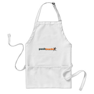 Push Boarder Official Logo Designs Adult Apron