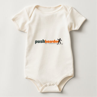 Push Boarder Official Logo Designs Baby Bodysuit