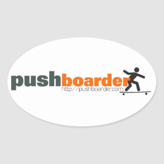 Push Boarder Official Sticker