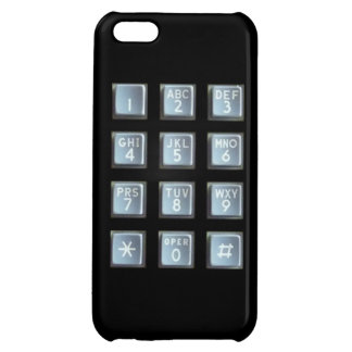 Push Button Keypad Case For iPhone 5C