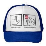Push Button, Receive Bacon - Bacon Dispenser Trucker Hats