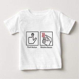 Push Button Receive Bacon Infant T-shirt