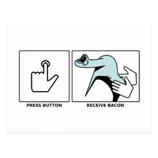 Push Button, Receive Bacon Postcard