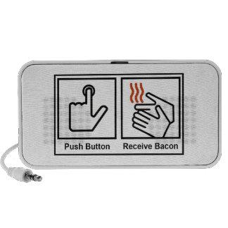 Push Button, Receive Bacon Speaker